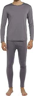 ViCherub Men's Thermal Underwear Set Fleece Lined Long Johns Winter Base Layer Top & Bottom 1 or 2 Sets for Men