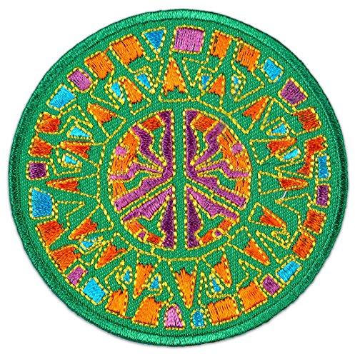 Fraktal Mandala - Parche para planchar