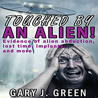 Touched by an Alien! audiobook cover art