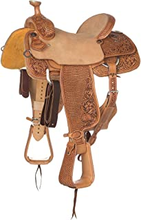 NRS Competitor Series 7/8 Breed Team Roping Saddle