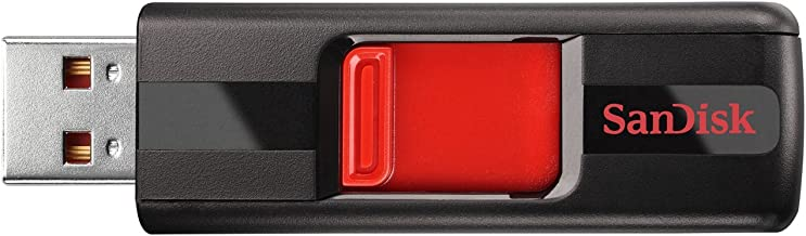 SanDisk Cruzer 64GB USB 2.0 Flash Drive (SDCZ36-064G-B35)