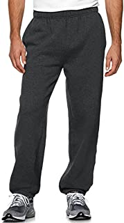 Premium Imports Mens Heavyweight Athletic Sweatpants with Drawstring Elastic Wasit & Cuffs