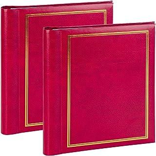 Album Photo Adhesif Grand - Livre Scrapbooking Autoadhesif Facile à Utiliser Avec 2 x 20 Pages Magnétiques Pour Coller des...
