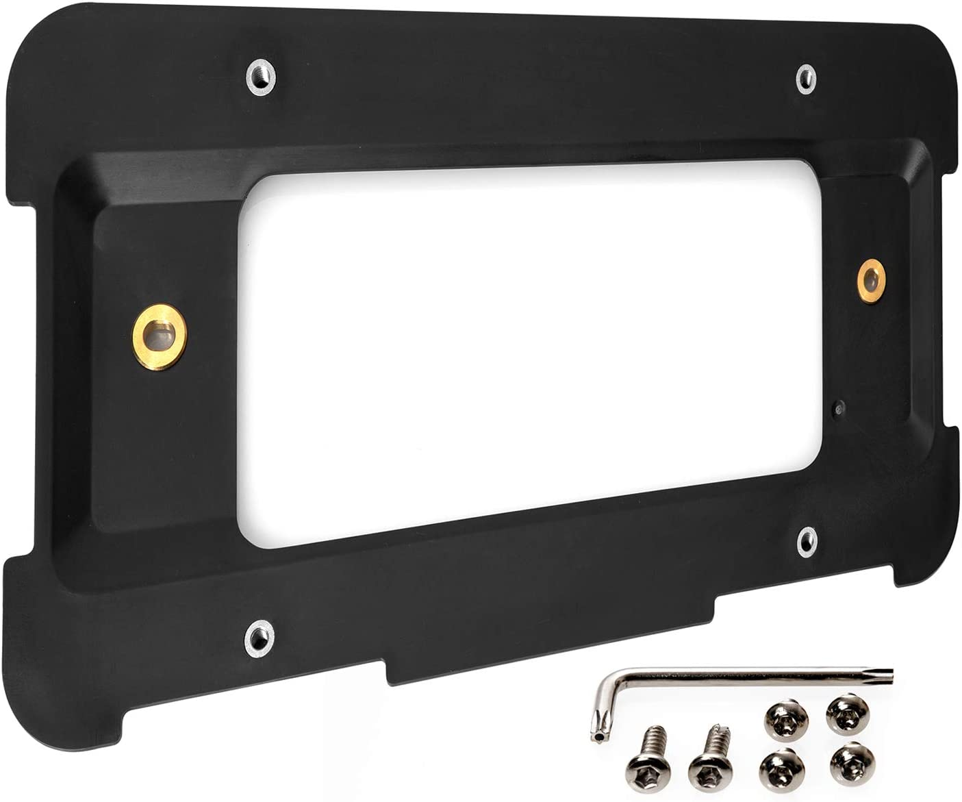 Max 76% OFF License Plate Holder Bracket Mounting half BMW Compatible 1 with Kit