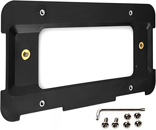 lowest License Plate Holder Bracket Mounting online Kit Compatible with BMW 1 2 3 4 5 6 Series Rear Plates Car Accessories Replaces 51187160607, 511882380615 online & 51188238061 Tag Frame Back Bumper Trunk Mount Adapter online sale