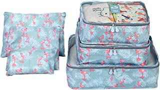TEGOS Packing Cubes Organizer/Suitcase Organizer with Laundry Bag Travel Accessories for Luggage 6 Set Compression Bags fo...