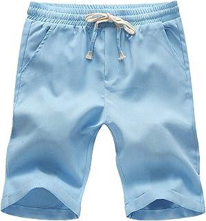 U/A Estate Casual Moda Fresco Pantaloni Tinta unita Pantaloncini Uomo