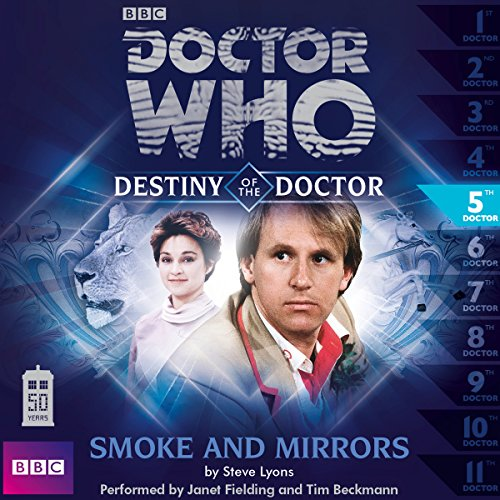 Doctor Who - Destiny of the Doctor - Smoke and Mirrors cover art