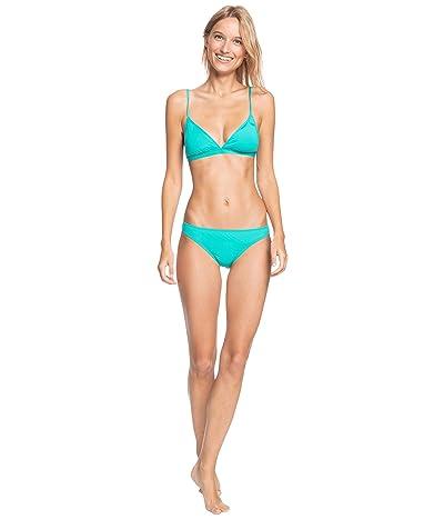 Roxy Solid Beach Classics Fixed Tri Bikini Top