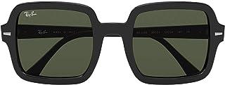 Ray-Ban 0RB2188-901-31-53 Reading Glasses, Black/Green, 53