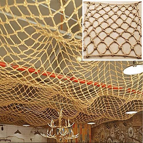 Bescherming Voor Kinderen Speeltuin Decoratie Netten - Kinderen Buitensporten Klimnet Vrachtaanhangwagen Netten Papegaai Hangmat Achtergrond Muur Decoratief Net (Size : 2×5m)