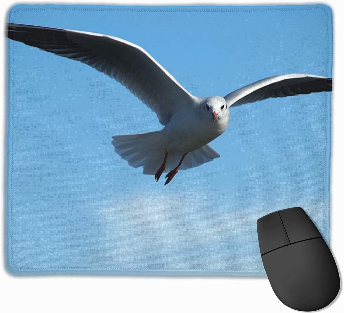 2021 new Mouse Pad Gull Bird Sky Non-Slip Denver Mall Rubber Flying Custom