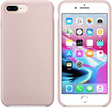Case four Color TPU Silicone Frosted Matte Case for iPhone7 8 7 8 Plus Soft Back Cover for iPhone 7 8 Plus (Pink, iPhone7/8)