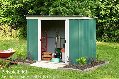 Pergart Gerätehaus PT104 dunkelgrün