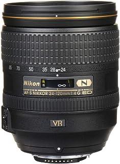 Nikon AF-S NIKKOR 24-120mm f/4G ED VR Lens, Black