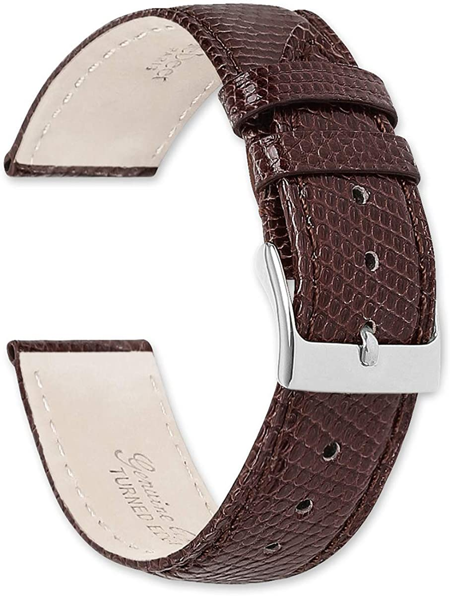 Genuine Houston Mall New Shipping Free Lizard Watch Band deBeer by -