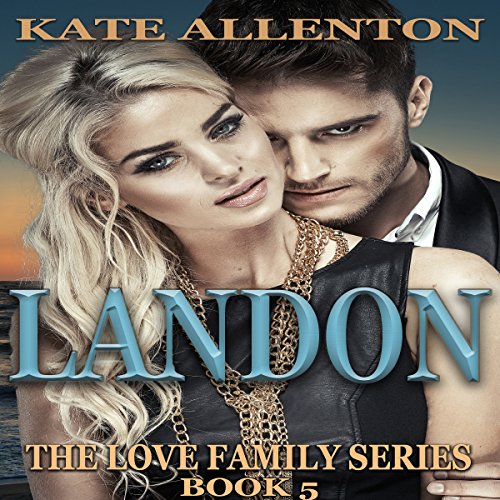 Landon audiobook cover art