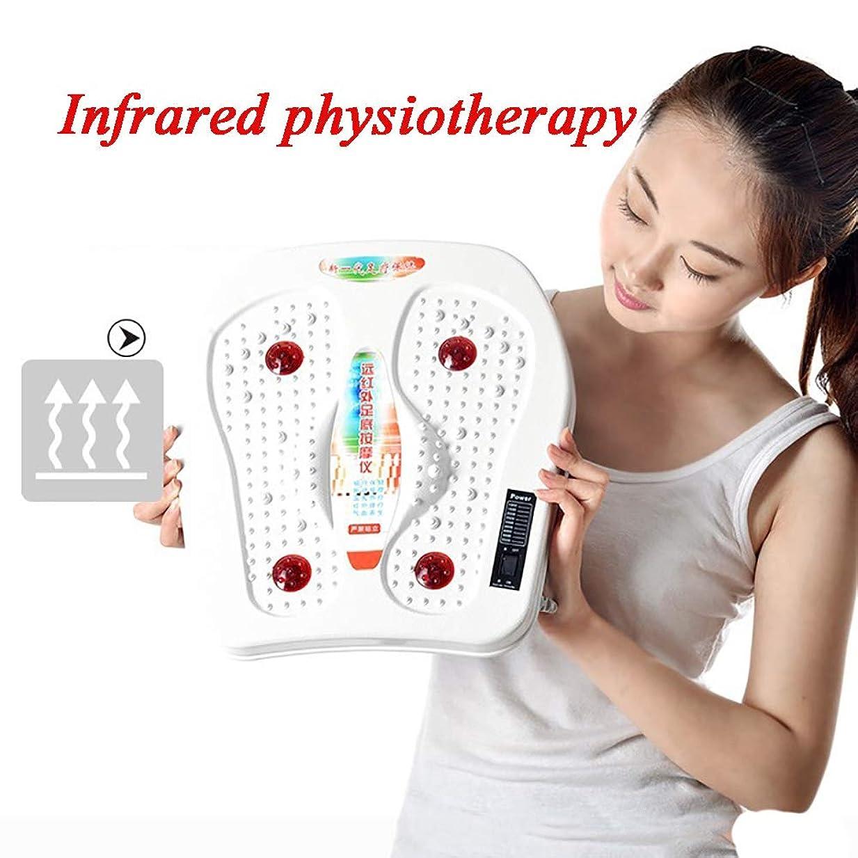 未接続話をするいつも足のマッサージトマッサージャー血循環の足底筋膜炎のためのHeatinfraredの足の振動マッサージャー機械が付いているフィートのマッサージャー