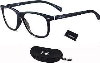 Blue Light Blocking Glasses Anti Eyestrain Computer Glasses Anti Blue Light, Anti Glare Reading Gaming Glasses for Men and...