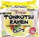 Sapporo Ichiban Ramen Artificially Flavored Tonkotsu, 18.5 Ounce (Pack of 6)