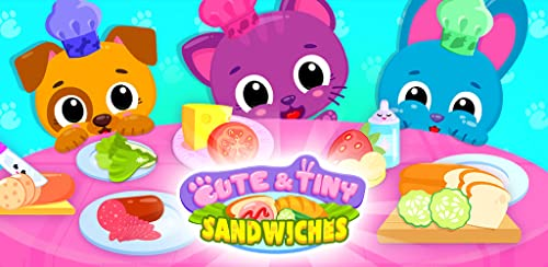 『Cute & Tiny Sandwiches - Quick Lunch For Baby Pets』のトップ画像