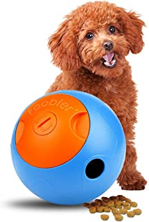 Yoyipet [Second Generation The Foobler Timed, Self Reloading Puzzle Feeder Ball for Dog Training and Play