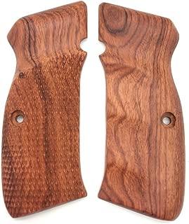 handicraftgrips Cfw22## New grips Cz75 Cz85 CZ SP-01 CZ 75B 75BD CZ75B 75 B grips Full Size Hard wood Hardwood Smooth Handmade Handcraft Birthday Gift Sport for Men by