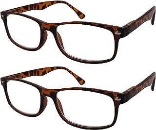1b3298bbd2 TBOC Gafas de Lectura Presbicia Vista Cansada - (Pack 2 Unidades) Graduadas  +2.00