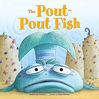 The Pout-Pout Fish audiobook cover art