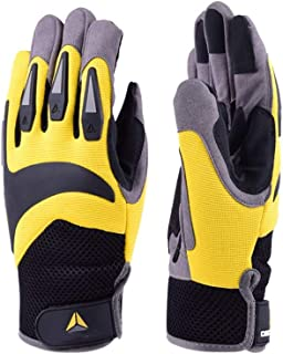 LULUD Outdoor Sports Gloves Wear-resistant Protective Breathable Comfortable Riding Anti-cut Riding Cycling Gloves Work Gl...