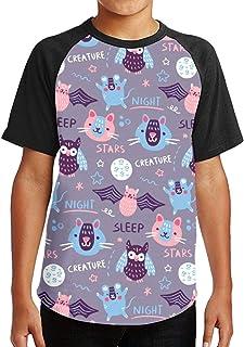 Youth Tee T Shirt For Teenager Creative Hand Drawn Tiger Boy Tshirts