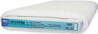 Pellon E-Z Stitch Tear Away Embroidery Stabilizer, White 20