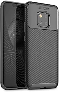 Flexible tpu mobile case for Huawei Mate 20 Pro soft cell phone case black