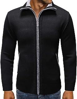 Beppter Mens Basic Motorcycle Jacket Warm Winter Faux Fur Coats Motorcycle Jacket Black,US Size M = Tag L
