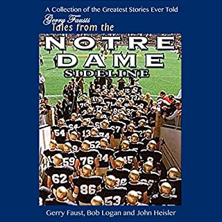 Gerry Faust's Tales from the Notre Dame Sideline cover art