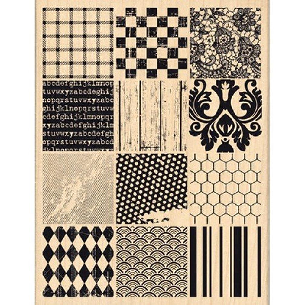 Florilèges Design fh113028?Stamp Scrapbook Patchwork Material Beige 13?x 10?x 2,5?cm