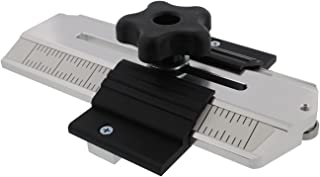 DCT Woodworking Thin Rip Table Saw Jig Guide Tool for Router or Band Saw Cutting Wood/Ripping Chair Slates, Cabinet