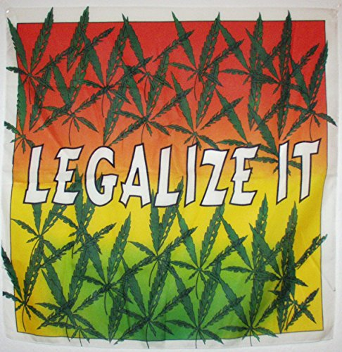 LEGALZE IT Poster-Fahne Poster Flag No. 171 Format 67 x 67 cm Cannabis Hanf Haschisch Ganja Weed