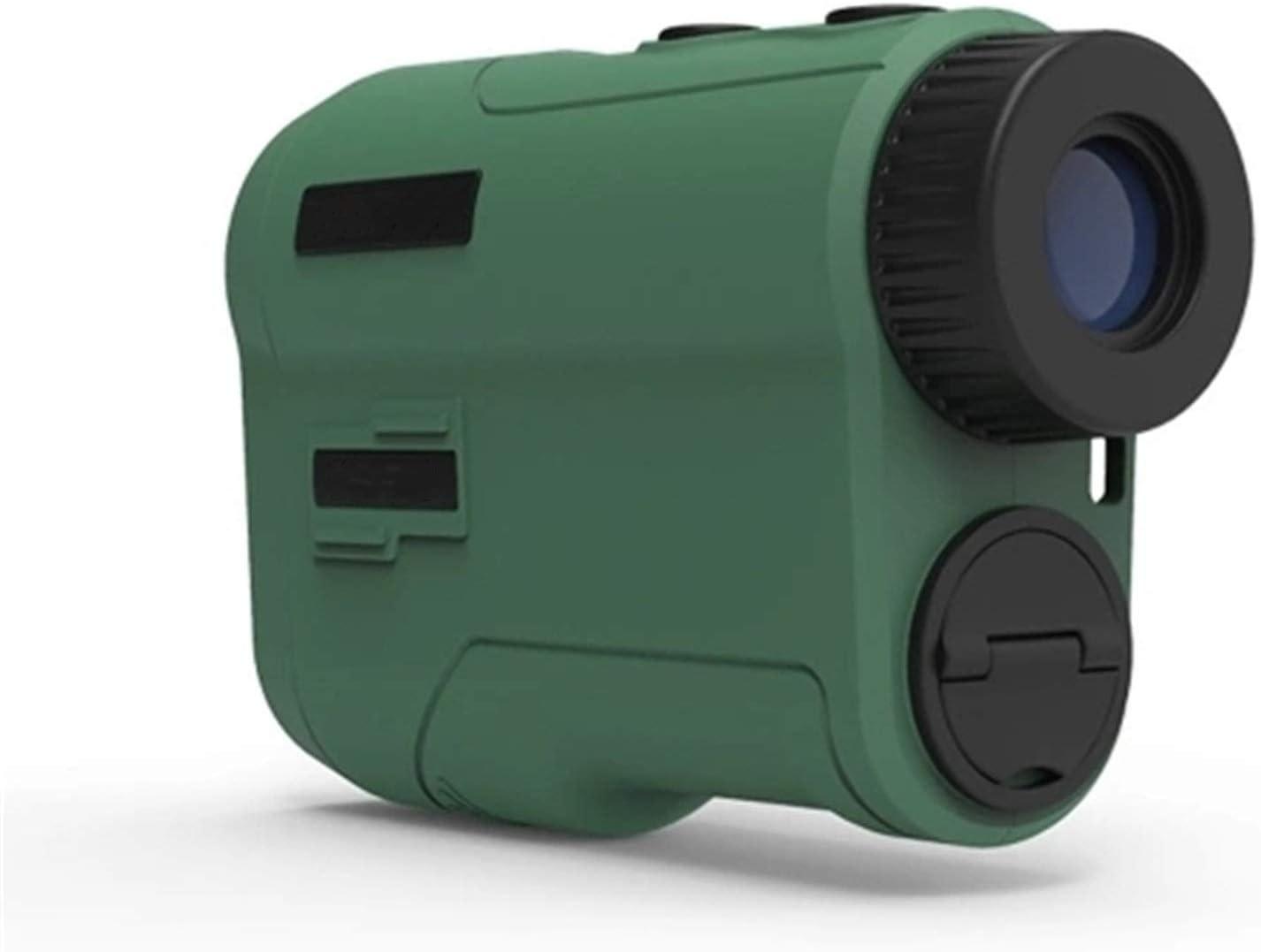yaunli Telémetro de Golf RangeFinder 600m 6X Ampliación HD Vista de HD Gama de golfFinder USB Recargable Telescopio Telémetro de Golf Impermeable (Color : Verde, Size : One Size)
