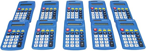 EAI Education CalcPal EAI-80 Basic Solar Calculator - Set of 10