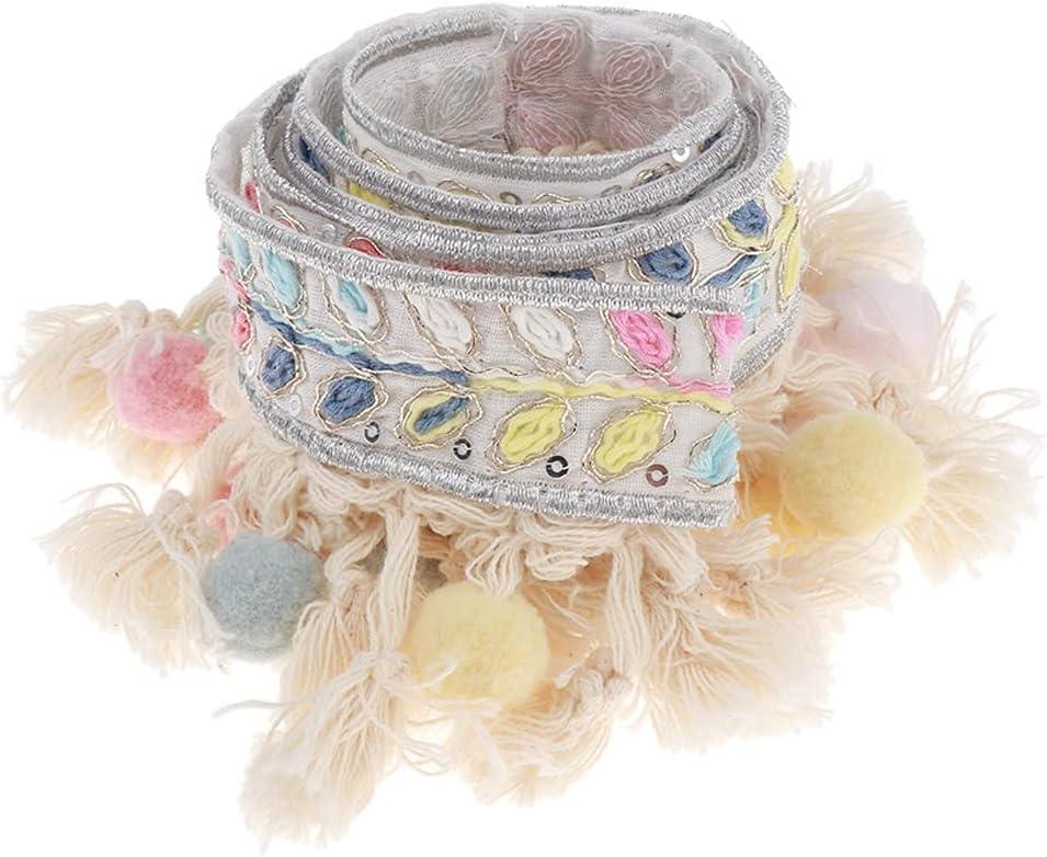 Award-winning store Max 53% OFF UXZDX Pom Trim Ball Fringe Craft Fabric Lace Handmade Sewing