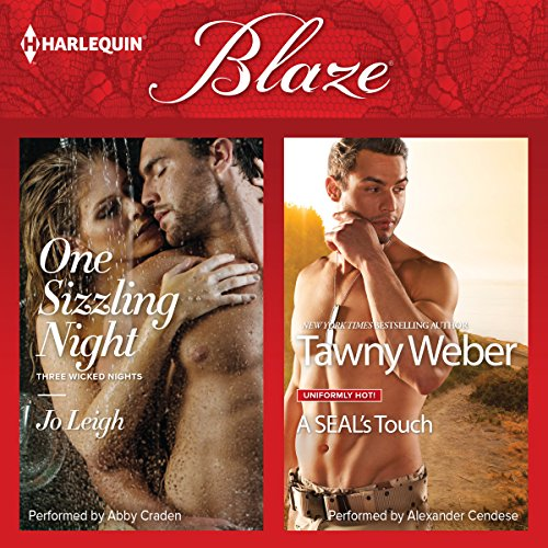One Sizzling Night & A SEAL's Touch audiobook cover art