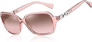 AOMASTE Retro Square Polarized Sunglasses for Women 100% UV400 Protection Lens Driving Outdoor Eyewear