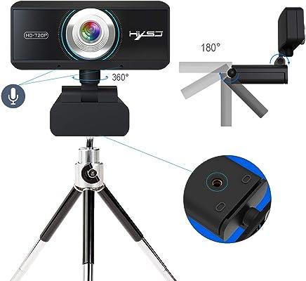 SSCJ HD Webcam 720P Webcam con Microfono Integrato per la riduzione del Rumore per Laptop e Desktop Plug-in per Fotocamera USB per Computer e Riproduzione di videochiamate - Trova i prezzi più bassi