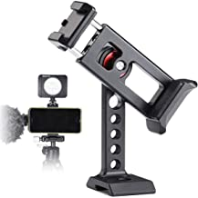 Sponsored Ad - Phone Holder for Tripod Mount,Cold Shoe for MIC and Light Attach, Arca/RRS QR Plate,1/4'' Screw Mount Cell ...