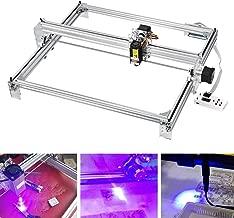 Giraffe-X 7000MW Laser Engraver Engraving Machine, CNC Router Wood Carving Engraving Cutting Machine, DIY Printer Logo Picture Marking,2 Axis Desktop Printer for Leather Wood Plastic,65x50cm