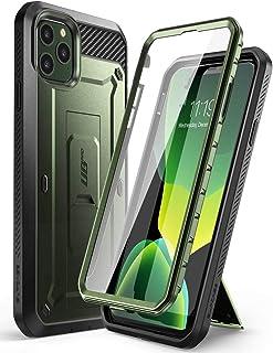 كفر ايفون 11 برو، سبكيس، كامل الجهاز 360 درجة، تصميم يونيكورن بيتل برو، اخضر معدني