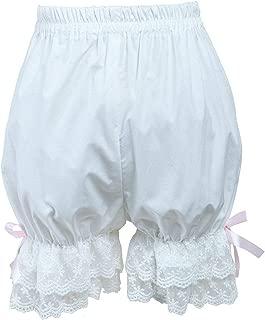 Cotton Cute White Lace Lolita Bloomers