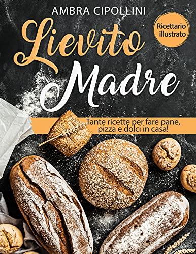 Lievito Madre: Tante ricette per fare pane, pizza e dolci in casa! Ricettario illustrato! (Le Ricette Gustose)