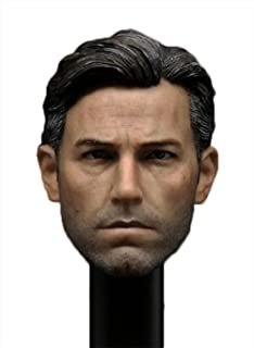 1/6 Custom Head Sculpt for Phicen Muscular Male Body